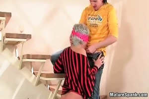 after priceless blow job play she got large