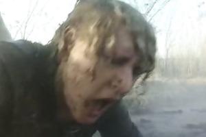 granny receive mud fuck