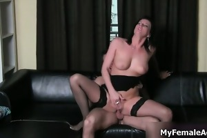 hot d like to fuck boss in sexy nylons t live