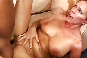 breasty blonde momma receives her bald nookie