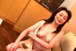 aged woman getting her nipp sucked unshaved pussy