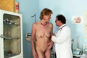 spruce old lady mila needs gyno clinic scrutiny