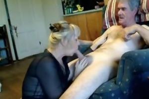 dilettante older irrumation pleasure-sex on bed