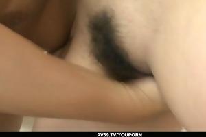 fastened up hottie yurina receive her bushy wet