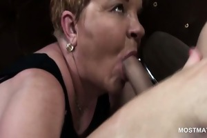 mature hookers licking stud booty and engulfing