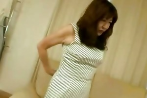 oriental mature floozy solo with toys