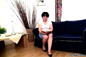 cute babes met at the teacher\s place and in a