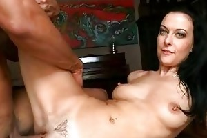 tanned dark brown d like to fuck acquires her