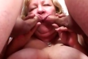 granny can her penis in her