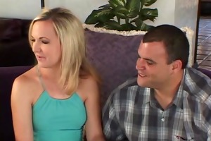 swinger wife screws in front of spouse