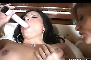 hawt milfs kayla paige and allies enjoys a wild