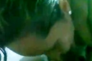 indian older kerala aunty doing smart oral to her