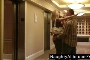 some begins in hotel hallway – public sex