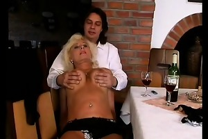 german mom enjoys her st anal sex