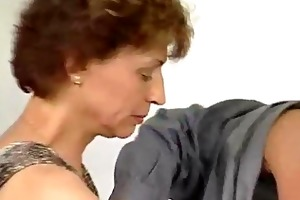 rigid cock for aged german lady