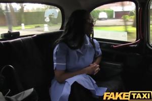 faketaxi hawt nurse wearing no knickers craves