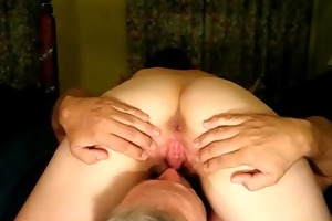 licked and creampied