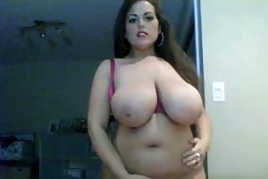 hawt big beautiful woman large tis disrobe