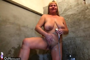 sexy juvenile angel licking old bulky cum-hole