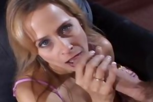 ravishing mother i knows how to strokes a cock