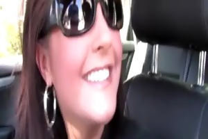 gorgeous golden-haired cougar acquires her slit