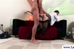 aged british d like to fuck in nylons drilled on