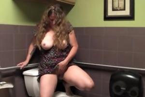 breasty aged jane masturbate her unshaved snatch