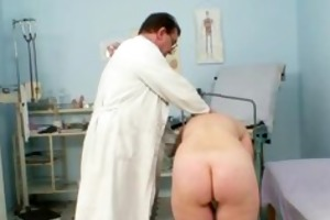 older old fur pie gyno speculum investigation