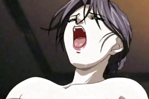 hentai d like to fuck enjoys a shlong and a toy