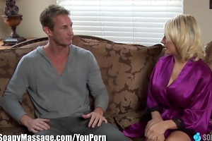 soapymassage breasty milf madison ivy soapy foot