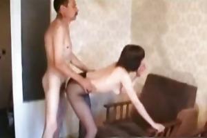 doggyfucked hawt mamma rips her nylons part5