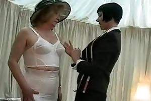 underware fitting for a older lady