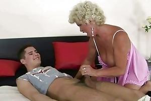 chap copulates breasty granny