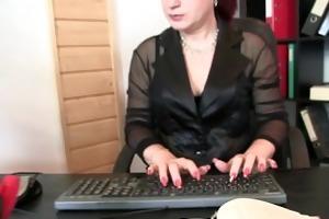 business lady takes weenies