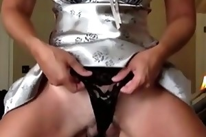 married d like to fuck masturbates on her daybed