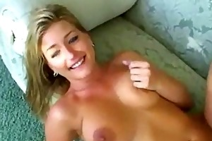 hawt large titty golden-haired mother i acquires
