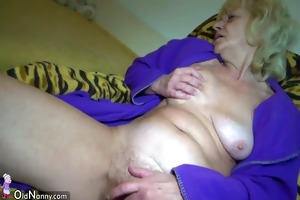 oldnanny old mature whipped and drilled with