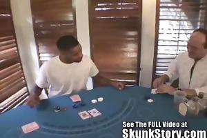 darian pays off husbands poker debt