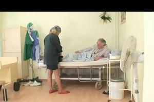 grandad playgirl fucking a good dark brown nurse