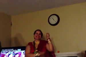 hawt nepali aunty dancing