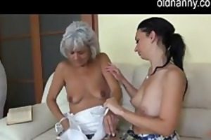 old mature licking youthful cookie
