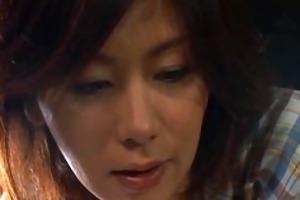 chisato shouda enjoyable older oriental chick