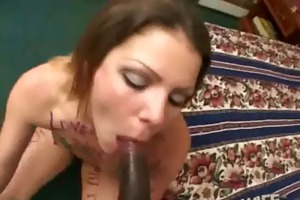 a cheating wife fucks a dark dude during the time
