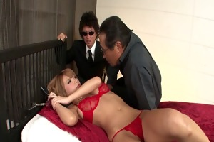 breasty sumire matsu gets a creampie after group