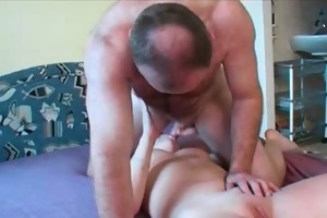 breasty redhead is screwed by sexually excited