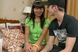 perverted legal age teenager worships older knob