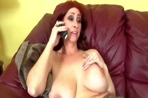 breasty redhead mother i jerks off a boner