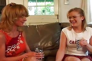 large boobies lesbo granny sharing ribald