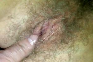mrs b close-up finger-fuck
