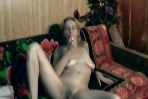 hot nina sex tool play on the bed